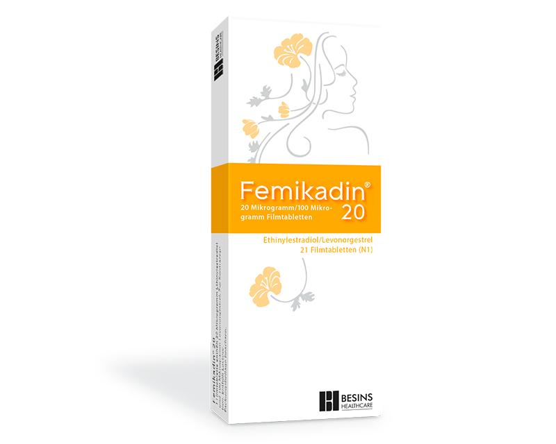 Femikadin 20 von Besins Healthcare